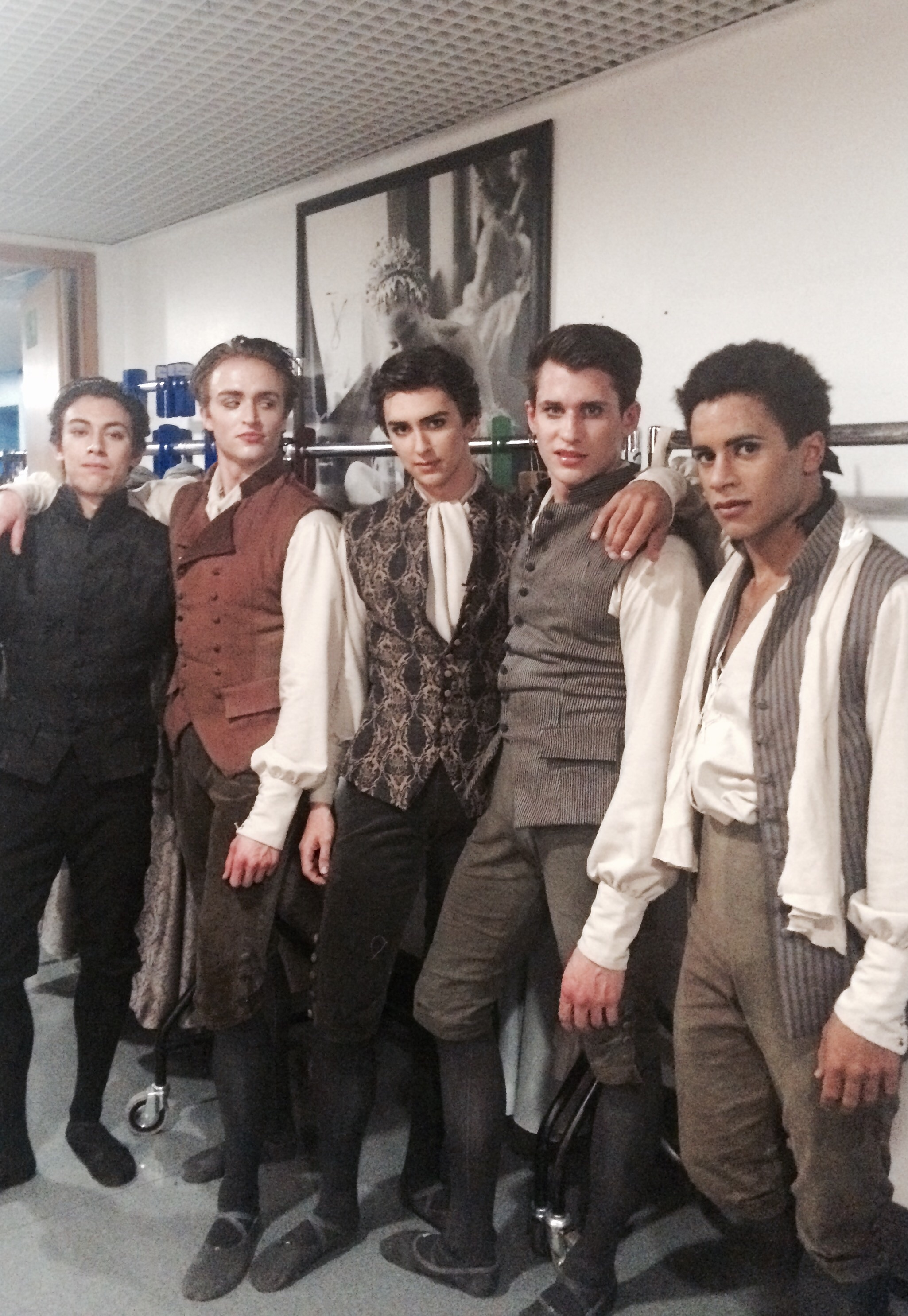 Luca, Matt, Teo, Nicol, Marcy