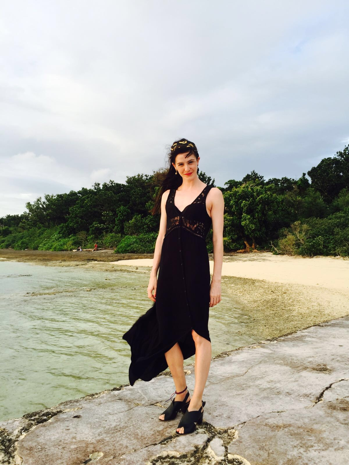 My black maxi. Simple and breezy!