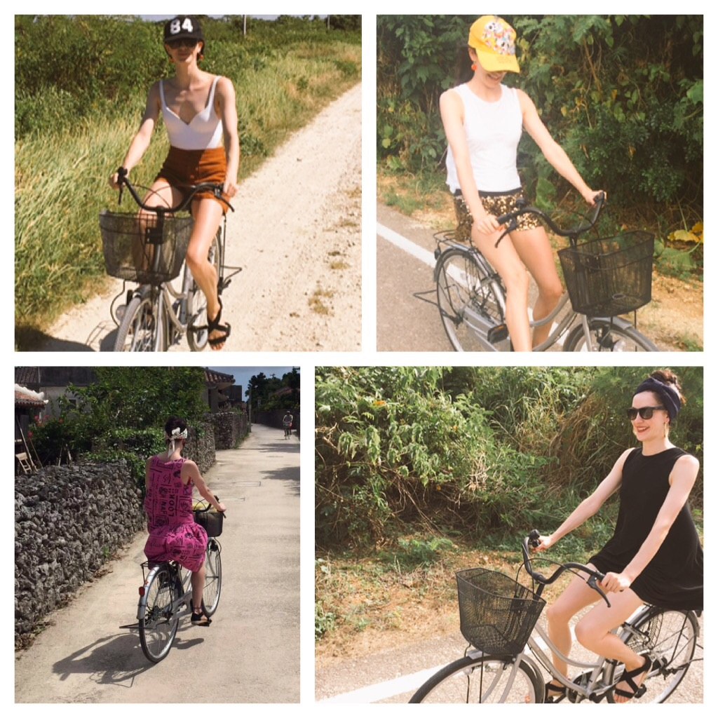 My bike ride outfits!