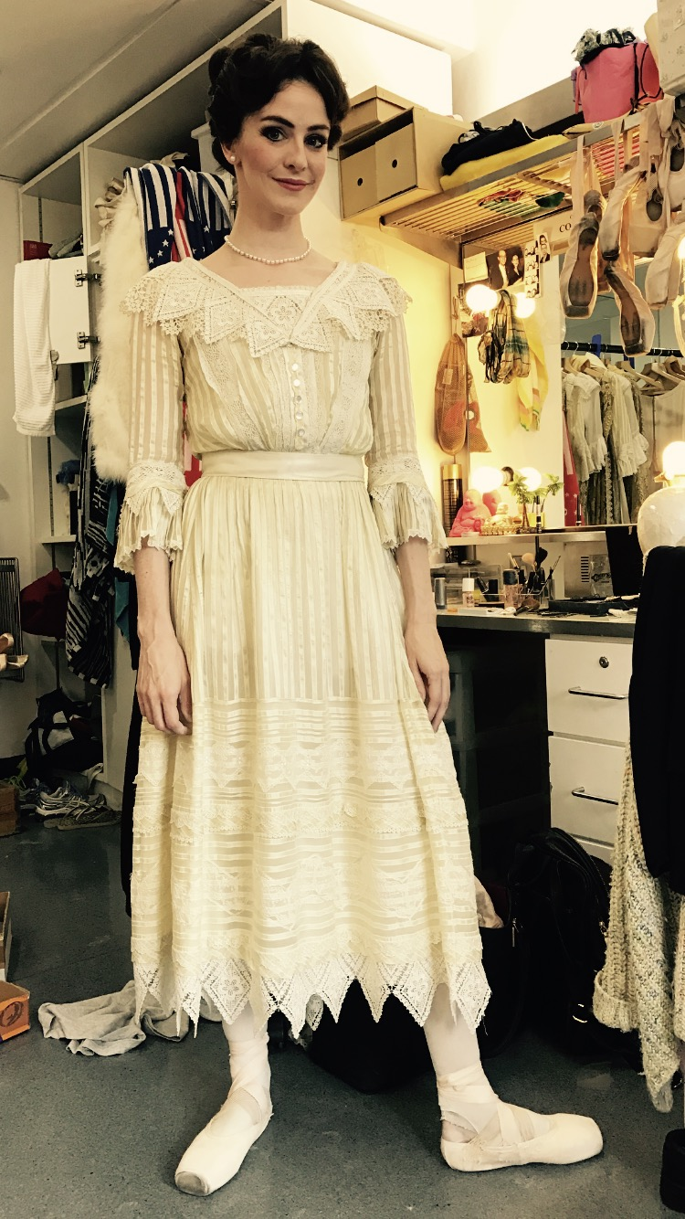 ME AS OLGA IN ACT ONE AND THREE