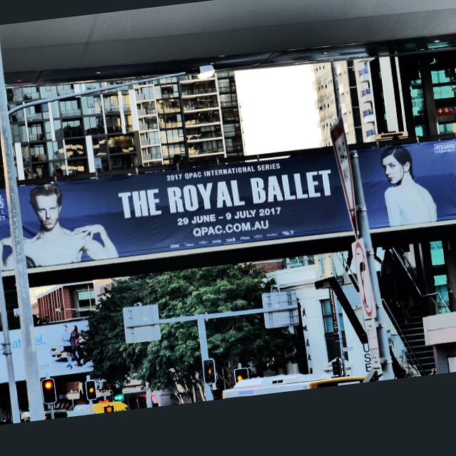 Couldn't believe it when I saw my face on one the posters promoting the company's tour... First time ever !