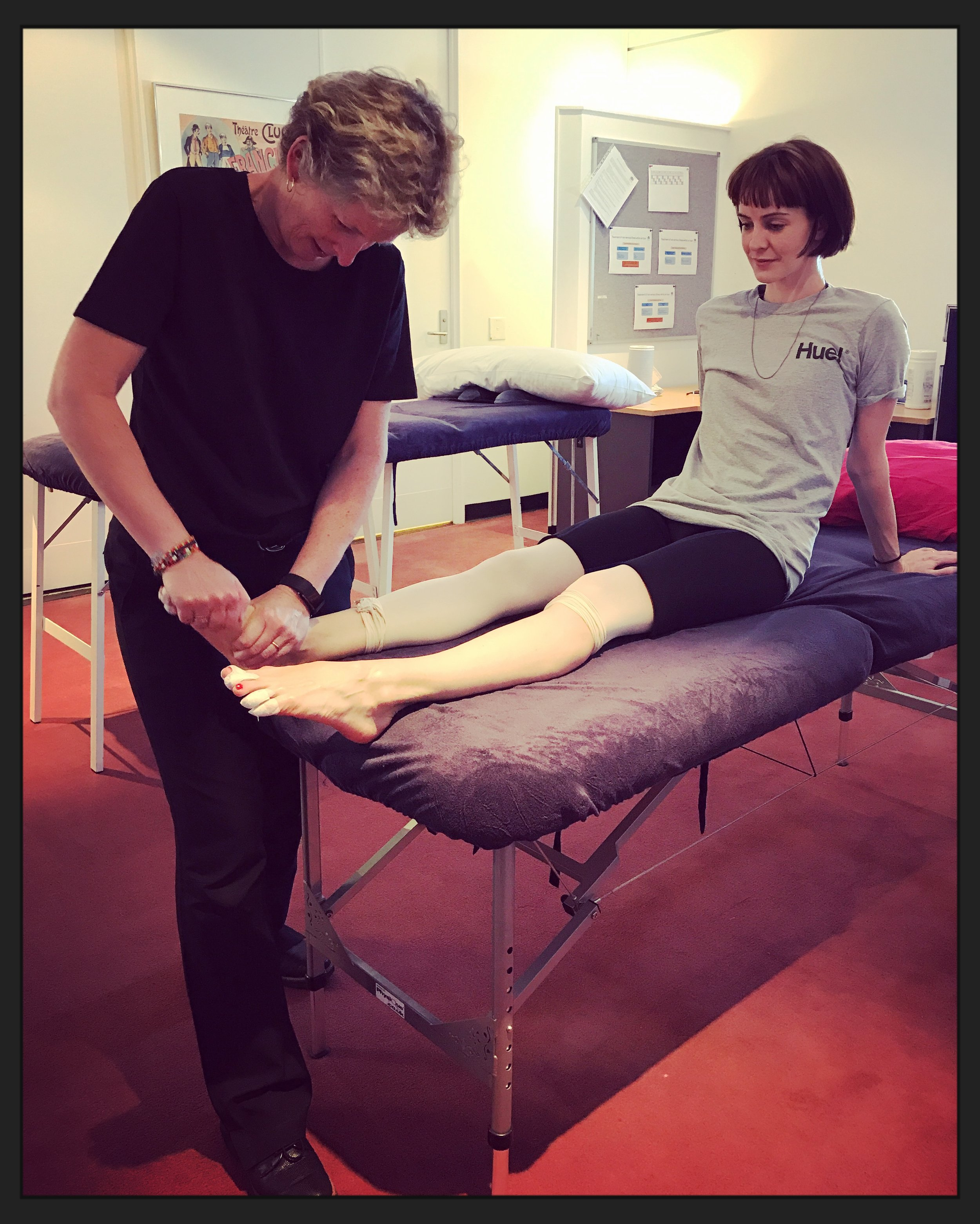 Physiotherapy with Caryl