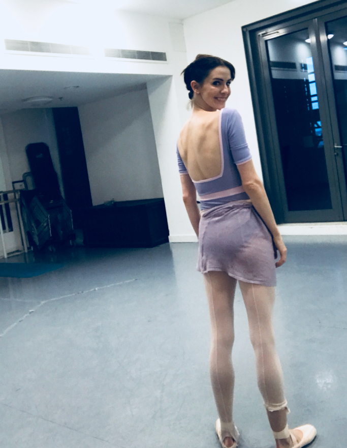 TIGHTS - Leftover from my shows of  Apollo   LEOTARD -  q-ballet.net