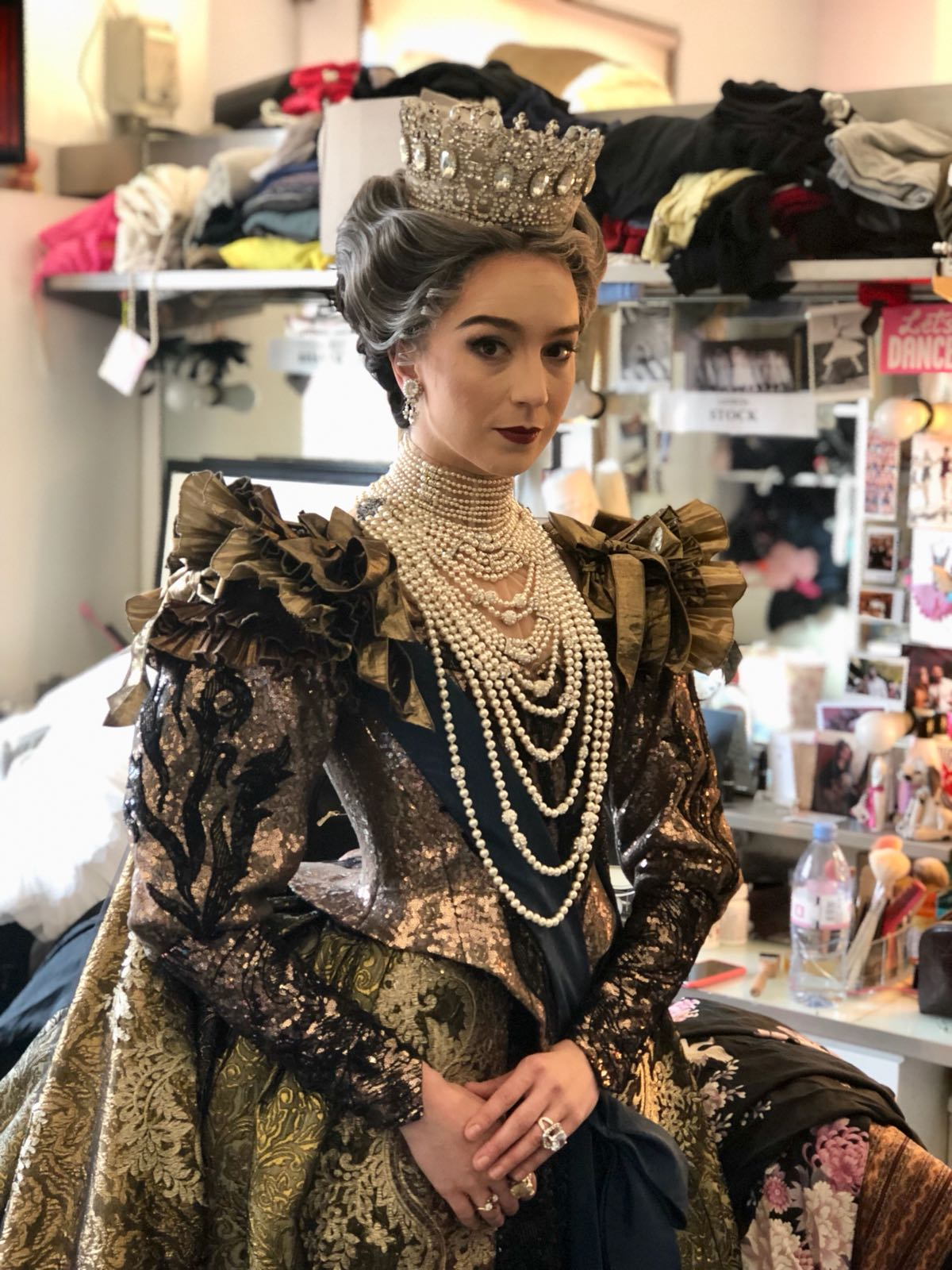 NATS IN QUEENS ACT 3 DRESS
