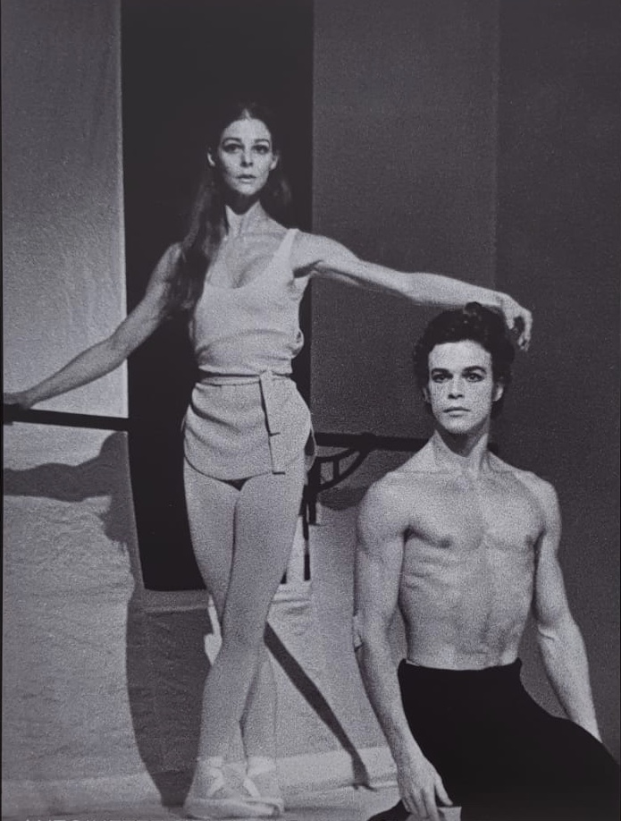 Antoinette   and Anthony showing beautiful poise.