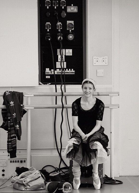 Alina Cojocaru. Photography  - Andrej Uspenski