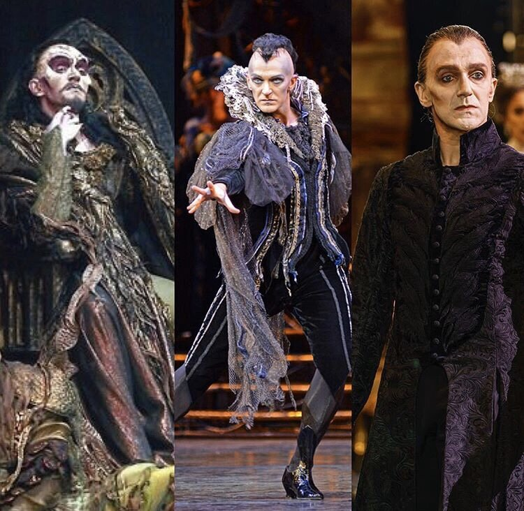 Gary Avis in 3 different productions