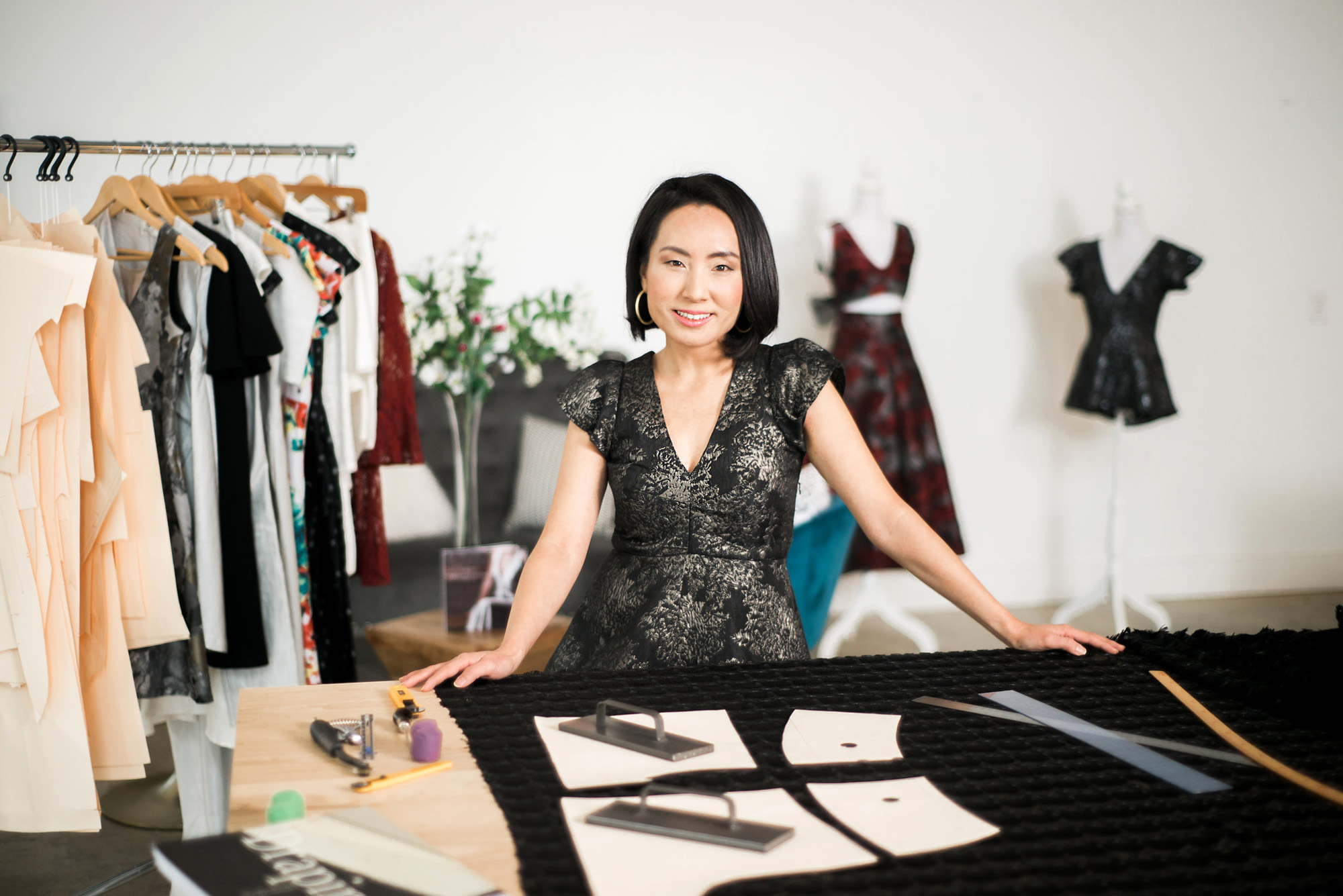Angela Kim of Asheville Couture | Photography by Sarah Hooker Photography