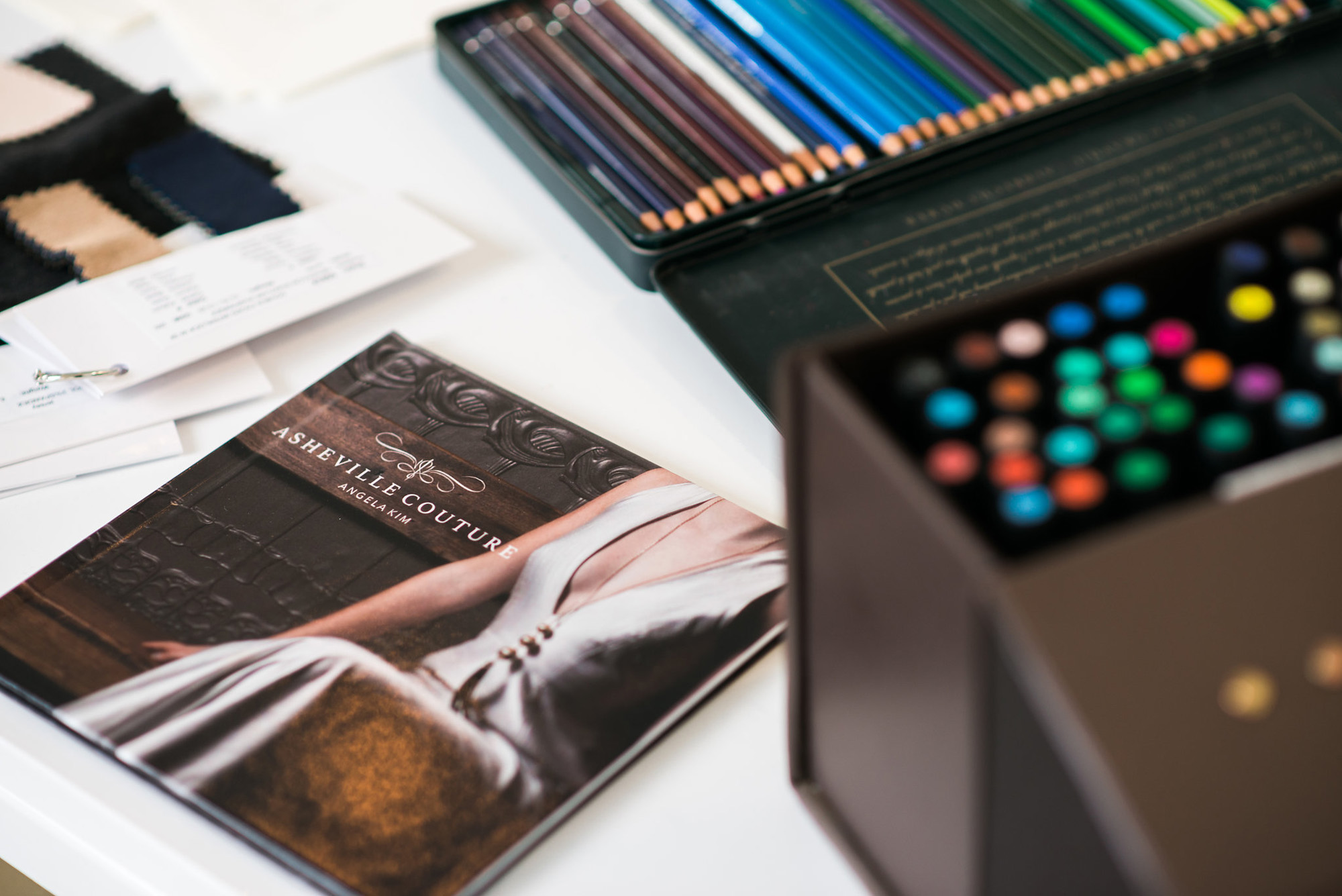 Asheville Couture book | Photography by Sarah Hooker Photography
