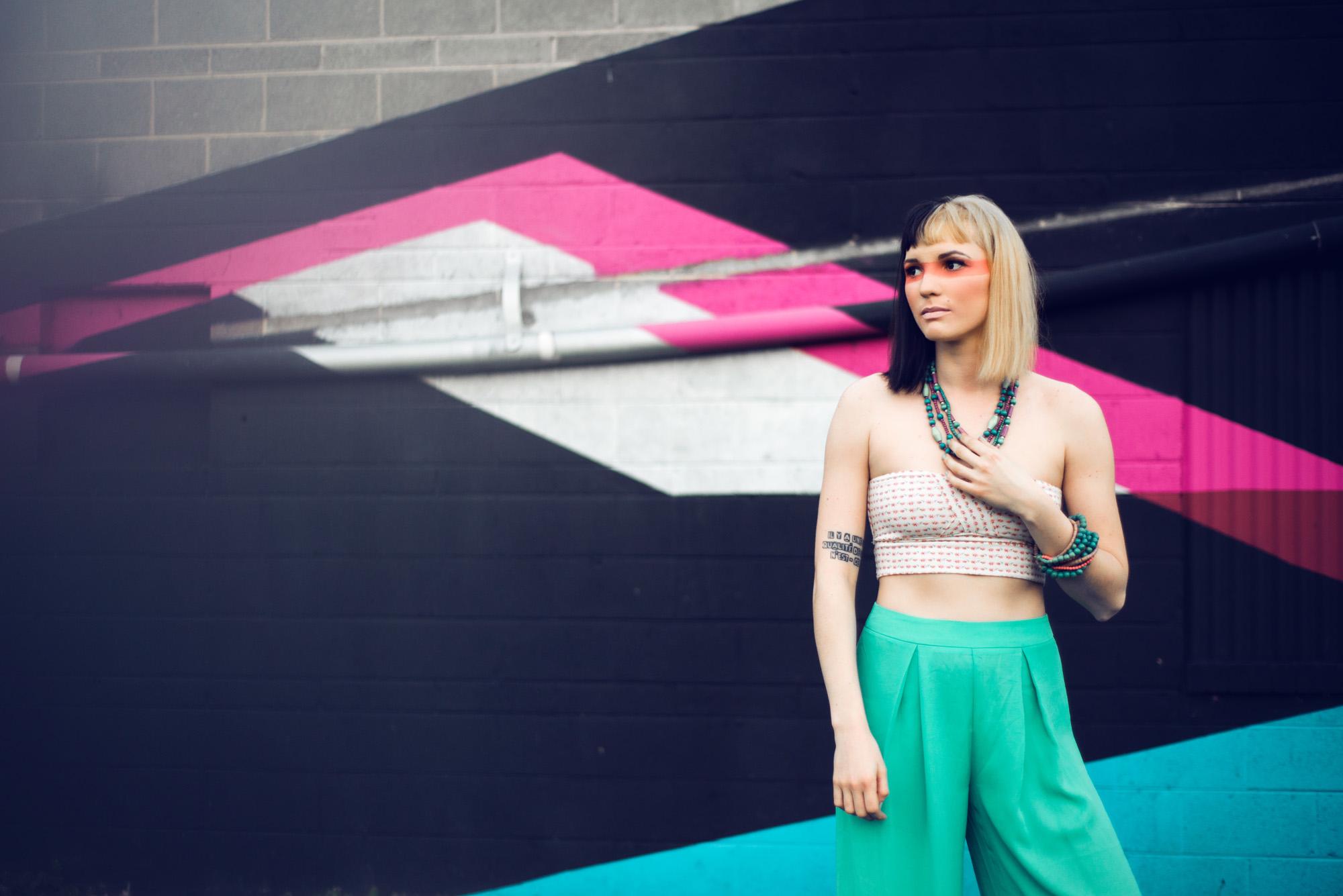 Sarah Hooker Photography | Color Fanatic: Play Every Day, Model Gabriela MacArdle, MUA Tia Hixon, Asheville NC