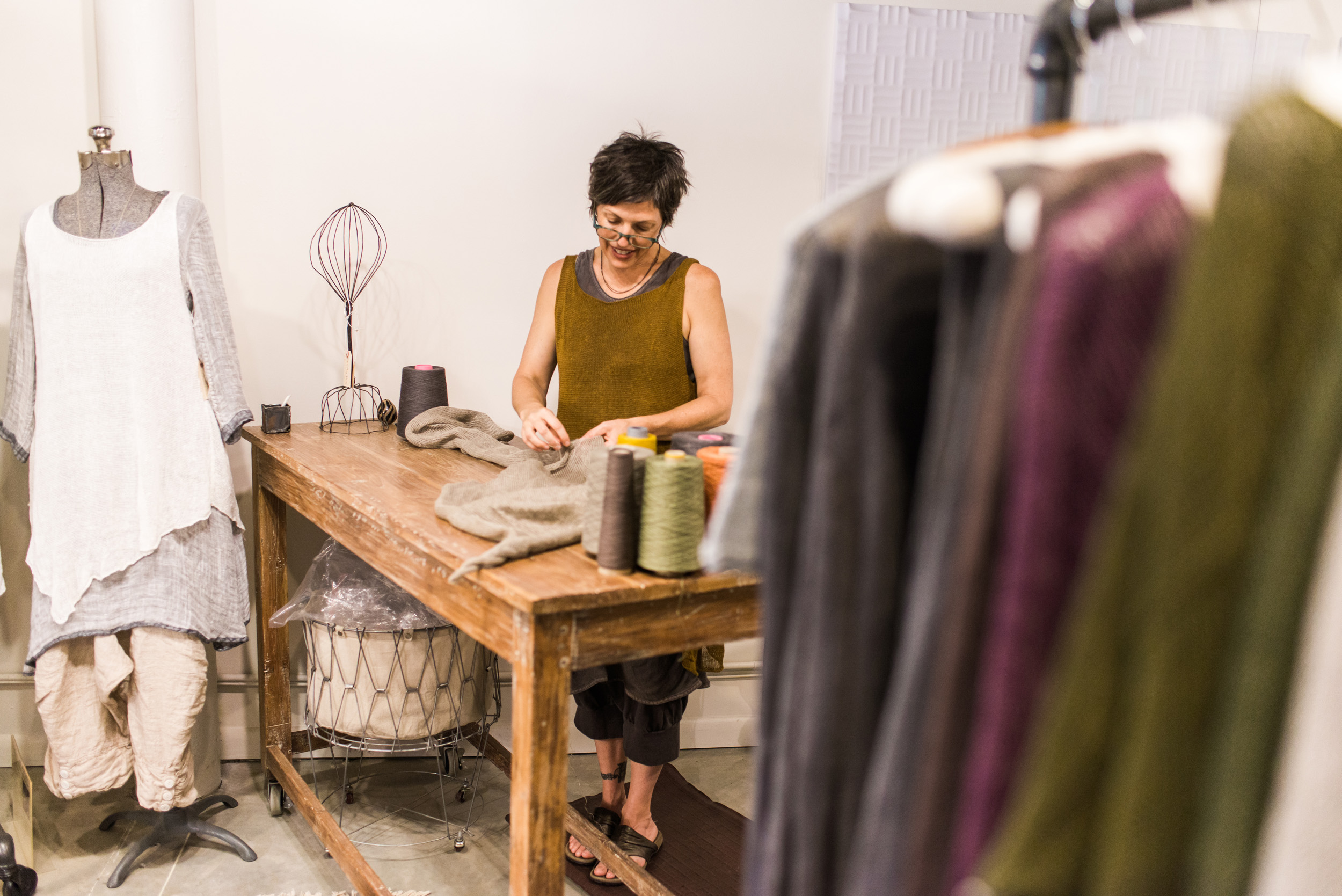 Business Branding Photography for Cara May Knits by Sarah Hooker Photography
