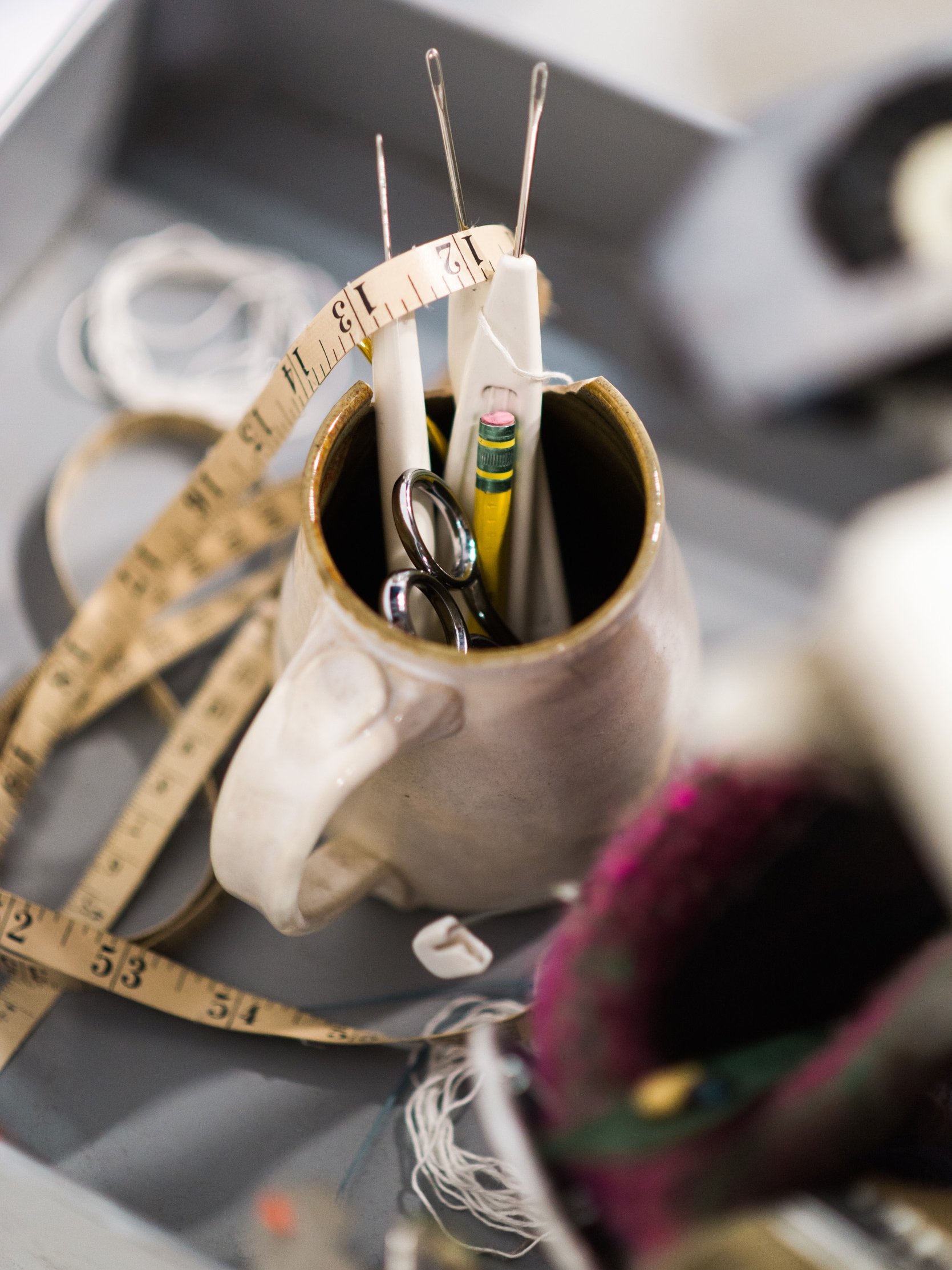 Tools of the Trade, Business Branding Photography for Cara May Knits by Sarah Hooker Photography