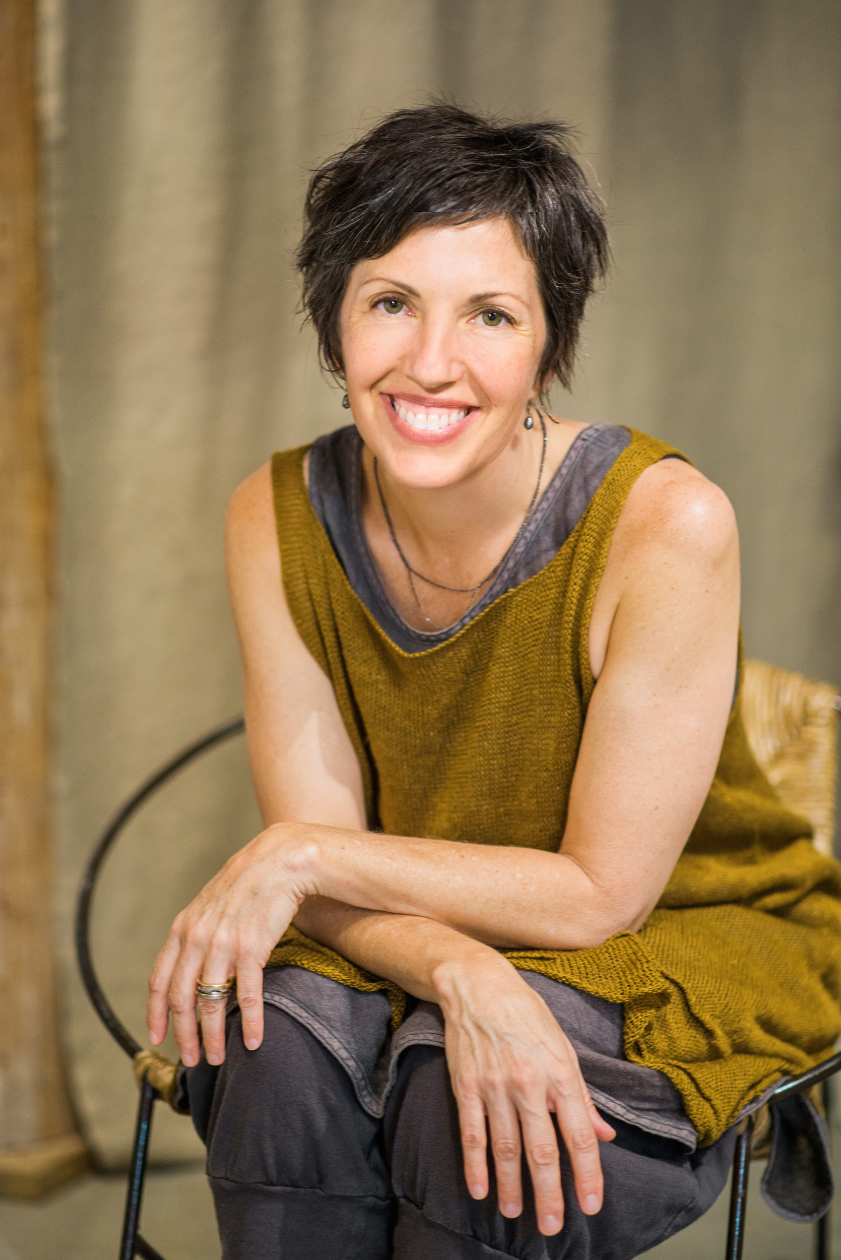 Headshot, Business Branding Photography for Cara May Knits by Sarah Hooker Photography