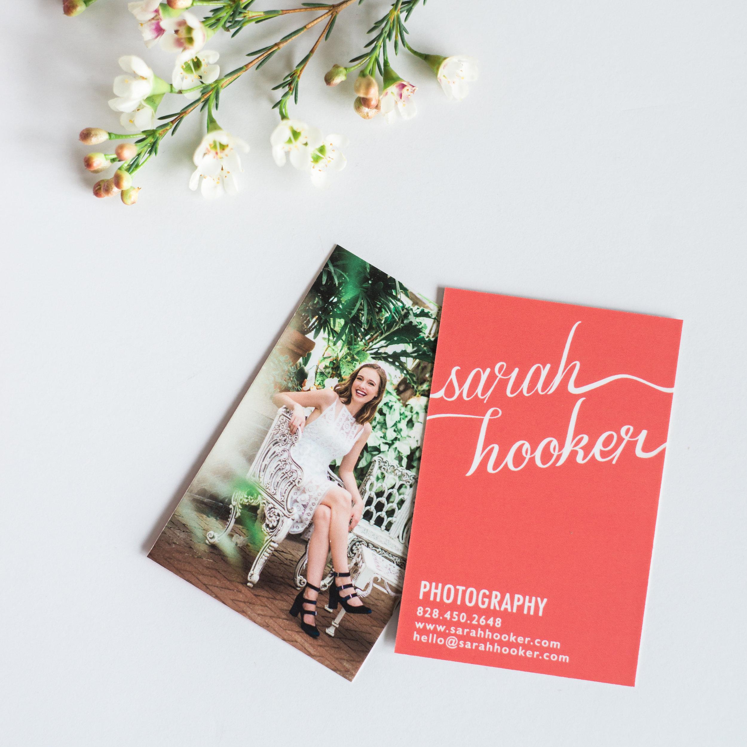 Sarah Hooker Photography Moo Business Cards