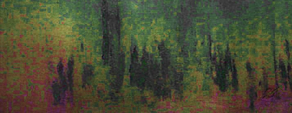 'PARLIAMENT DAWN' PETROL GREEN, VELVET, 180X65CM