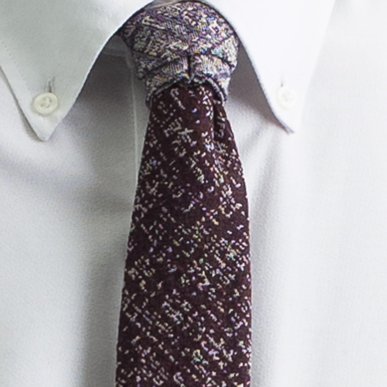 Rosemary Goodenough Man Woven Wool/Silk Tie 'Jock's Away'