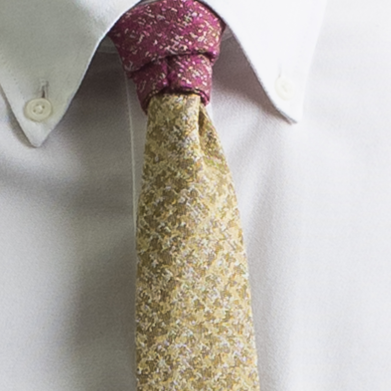 Rosemary Goodenough Man Woven Wool/Silk Tie 'Flight Plan'