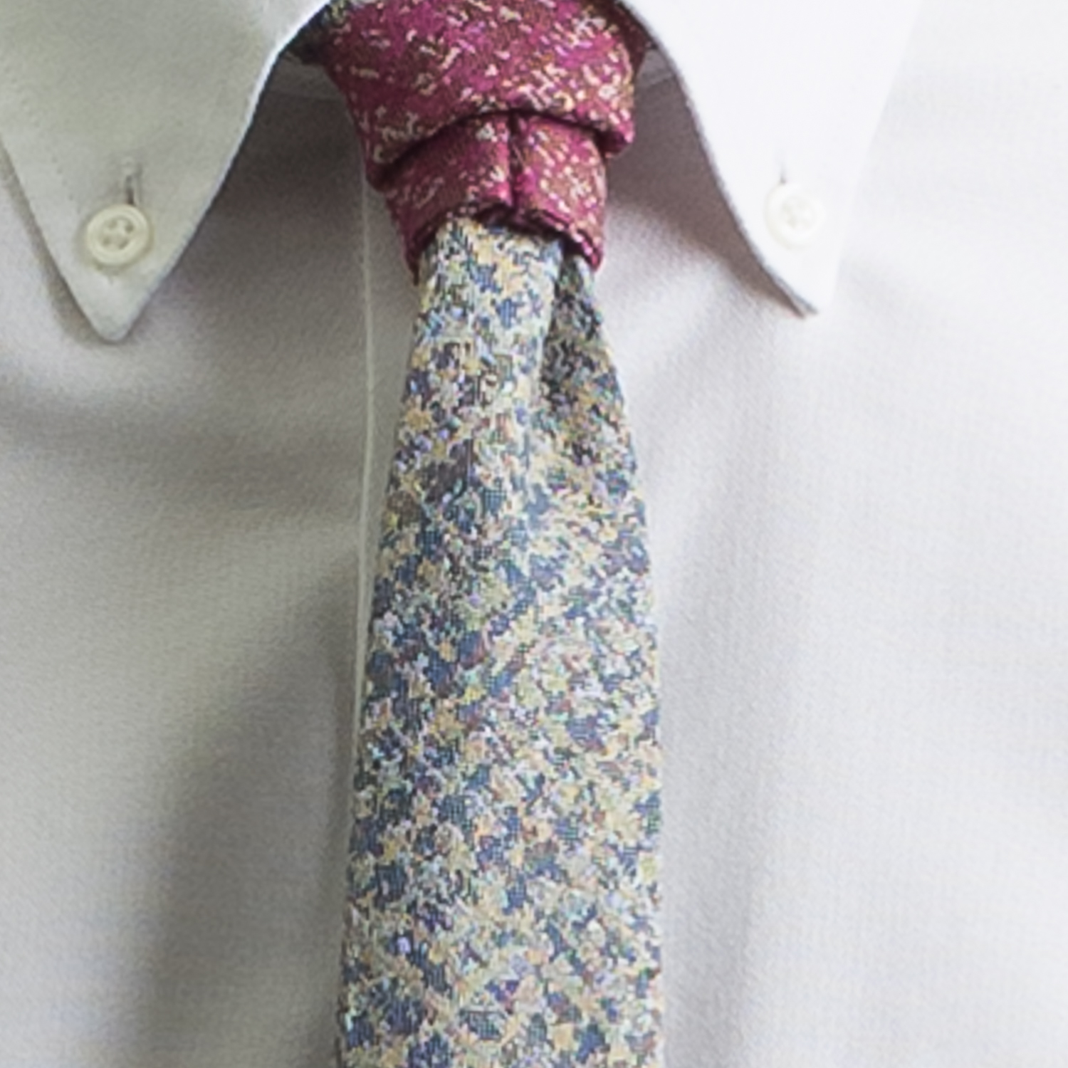 Rosemary Goodenough Man Woven Wool/Silk Tie 'Flying High'