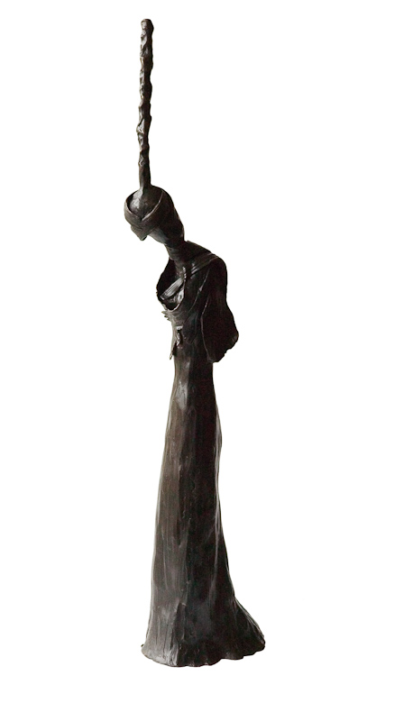 ELEANOR THINKING- Front Bronze £14,500 Limited Edition of 3 + 2 Artist's Proofs Height 71.5cm