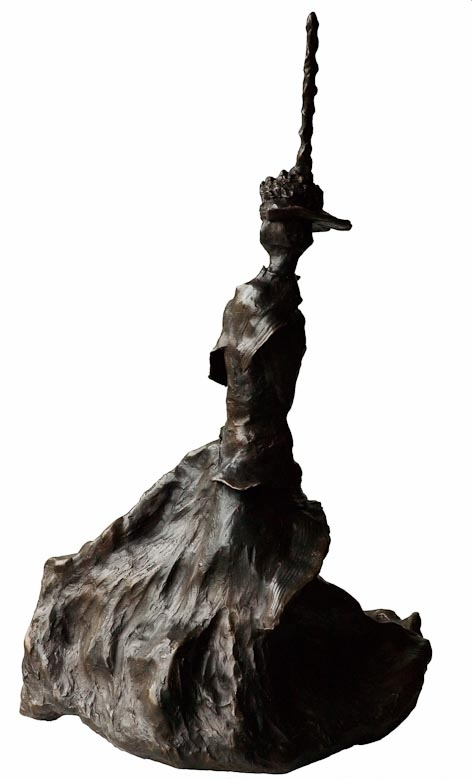 ELEANOR SWIRLING- Back Bronze £18,500 Limited Edition of 3 Plus 2 Artist's Proofs Height 84cm