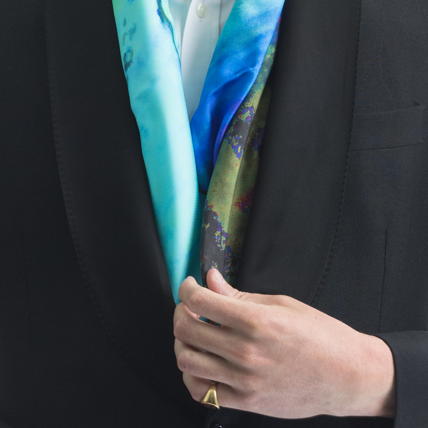 Rosemary Goodenough Man 'Twiggery IV' Scarf Detail.jpg