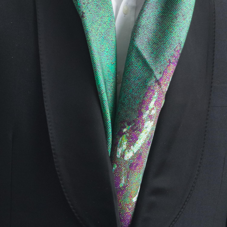 Rosemary Goodenough Man 'Springing Tulips IX' Scarf Detail.jpg
