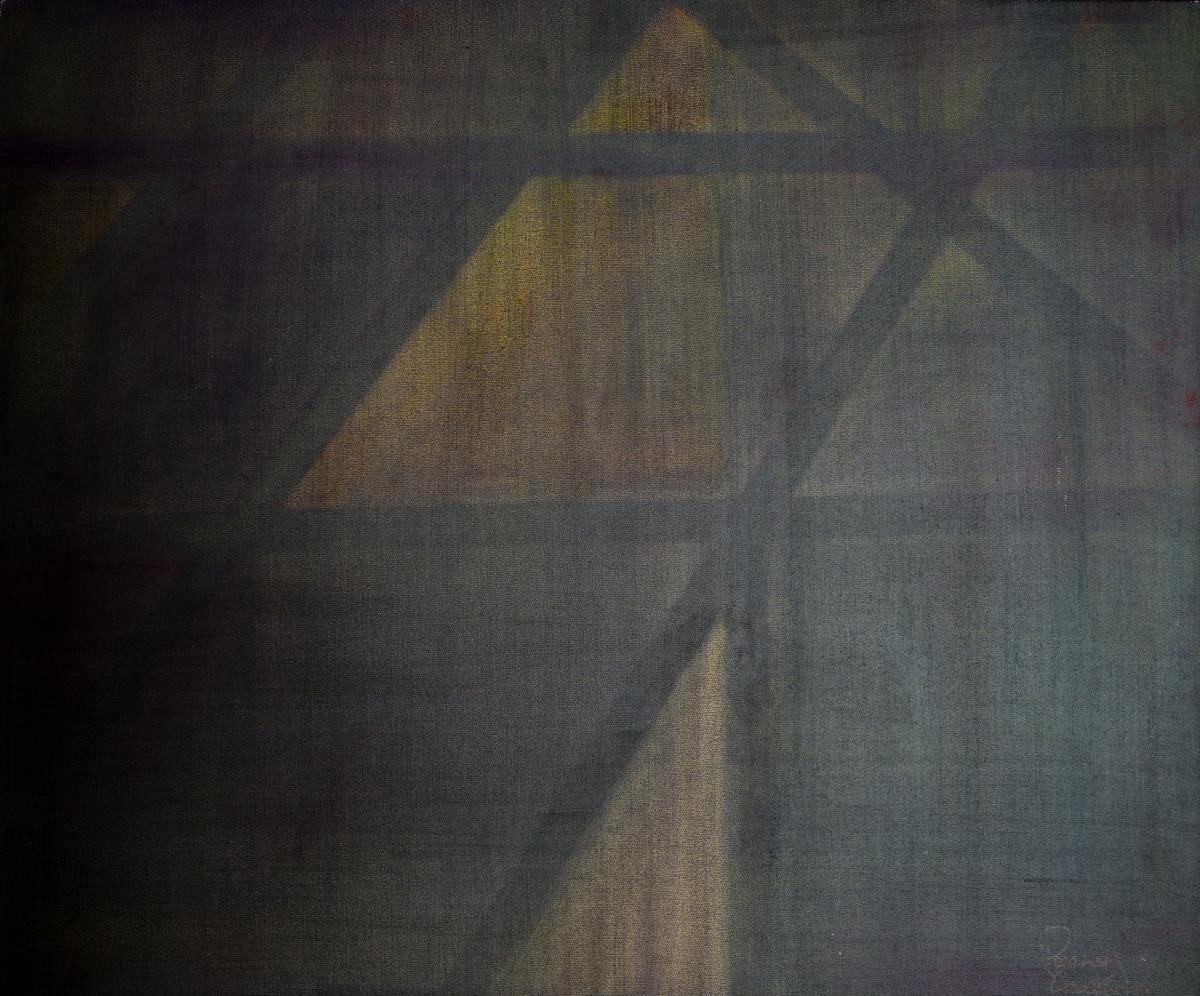 LIGHT GEOMETRY- On Board 88cm x 76cm Framed £6000