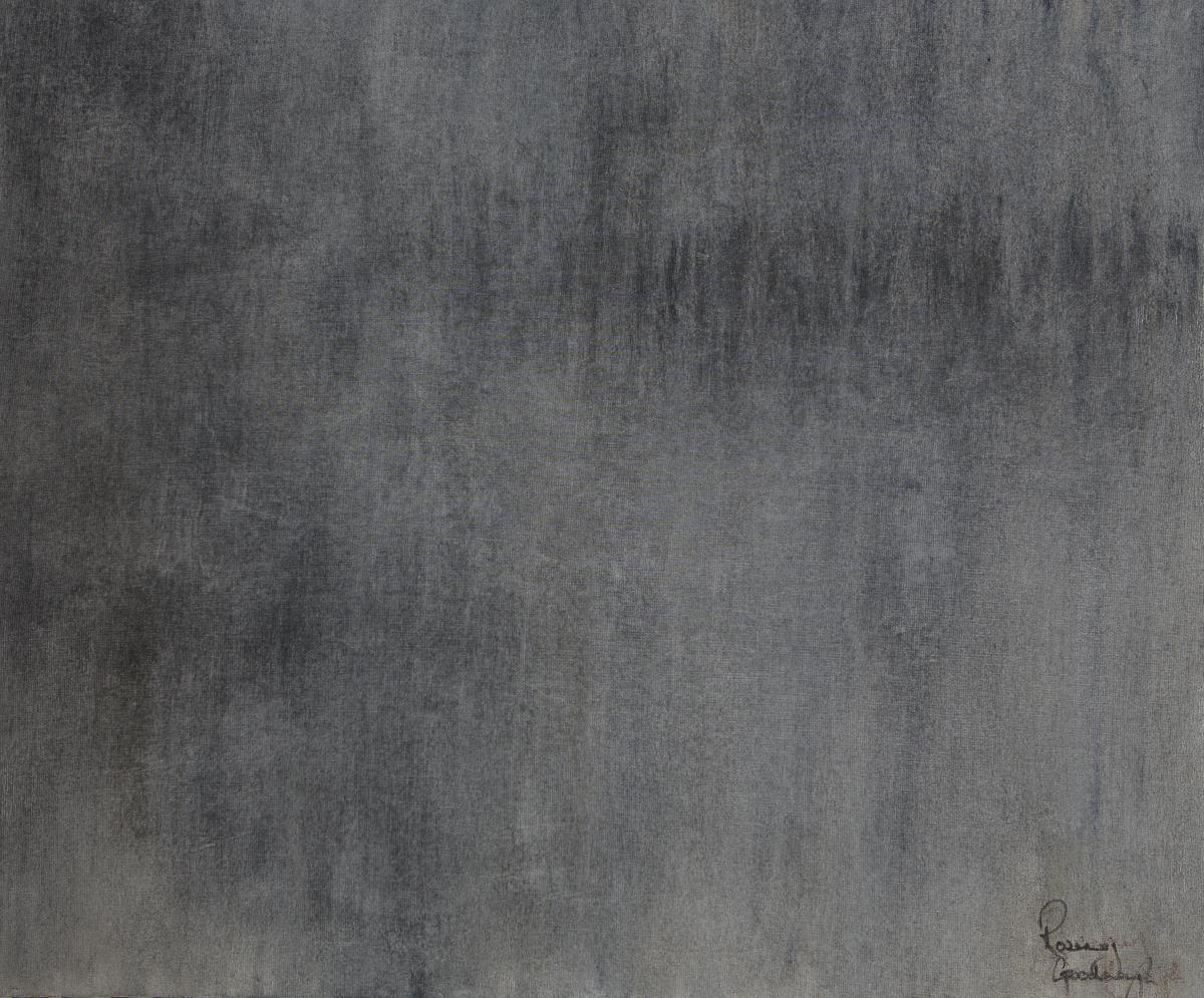 PARLIAMENT MIST- Oil on Board 88cm x 76cm Framed £6000