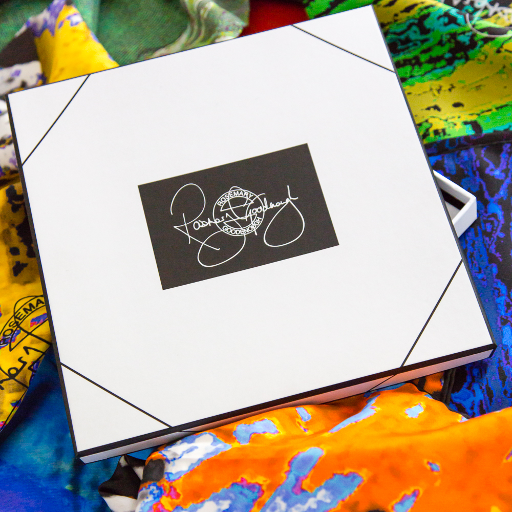 Rosemary Goodenough Silk/Cashmere Presentation Box