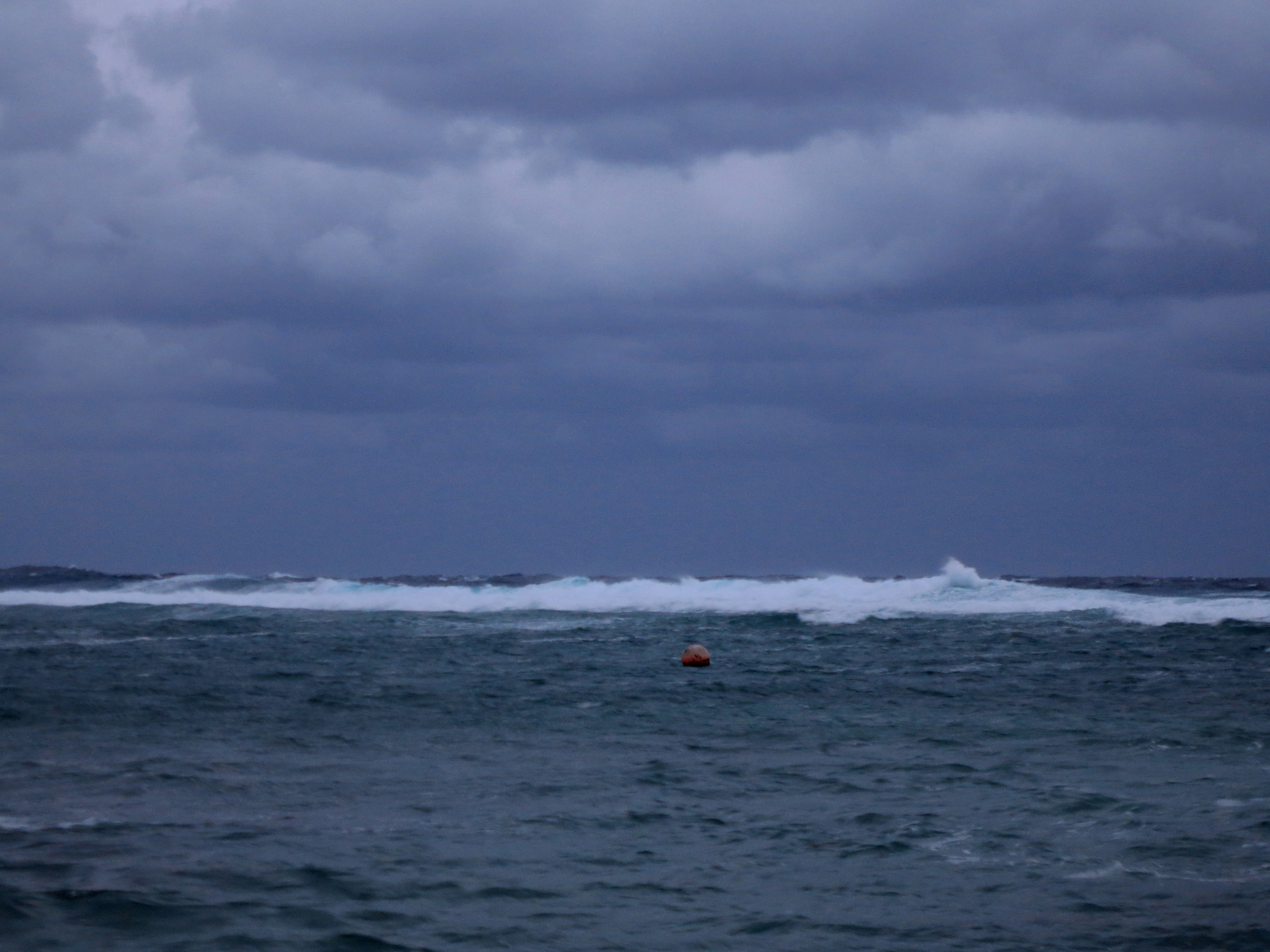 Same buoy, different day!