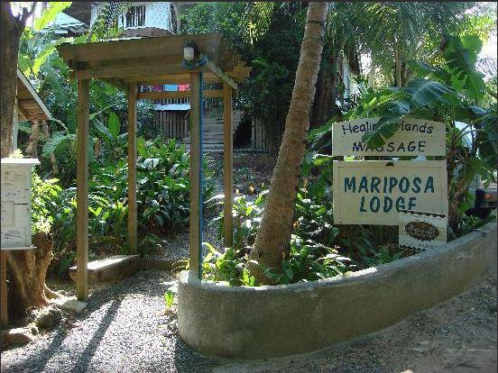 Mariposa Entrance