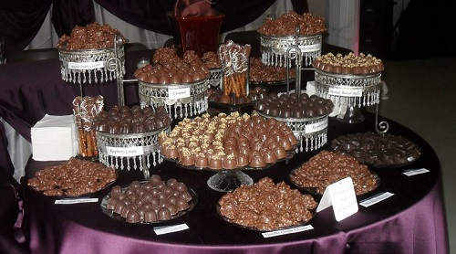Yes, this decadence exists! The Chocolate Buffet