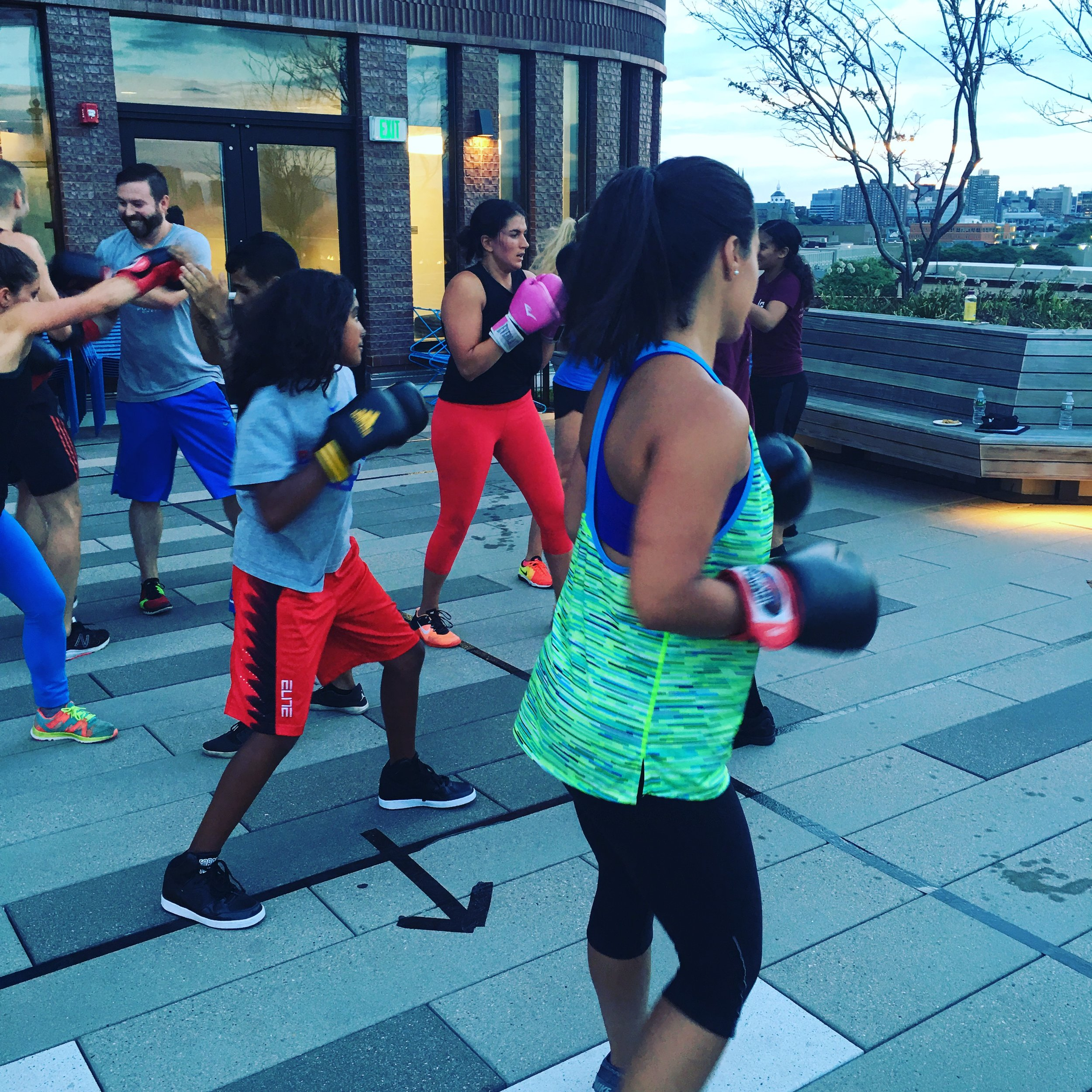 Boxing Class by Level Ground Mixed Martial Arts in Boston, MA