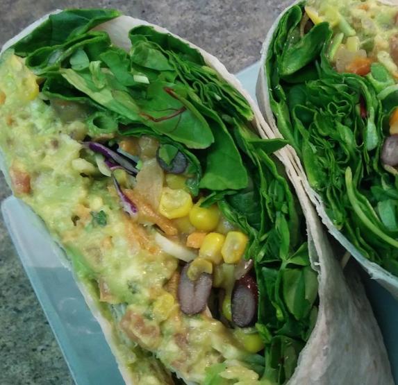 Chef Mona's Vegan Wrap