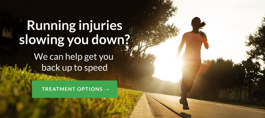 Running injuries slowing you down?
