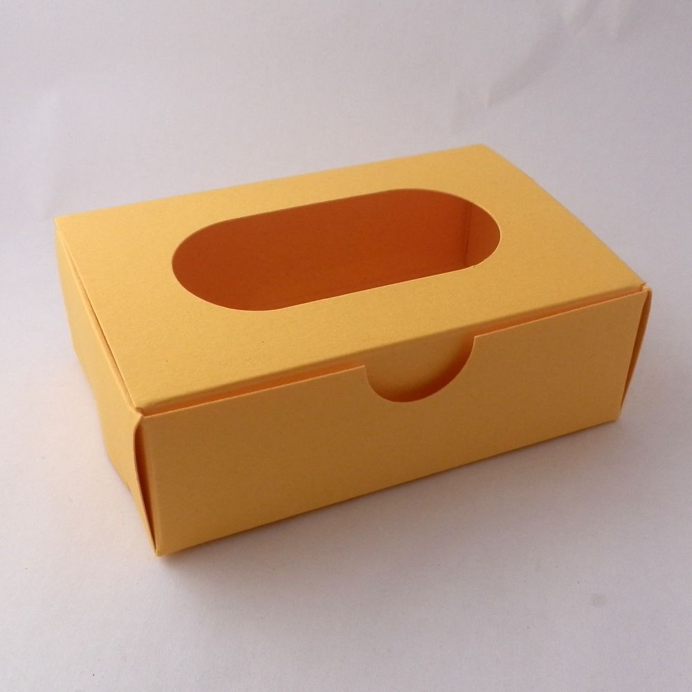 promotional fortune cookies - window presentation boxes - yellow