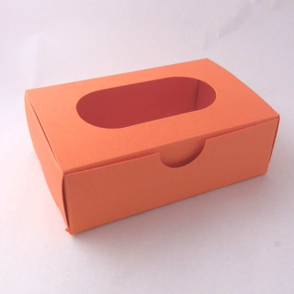 promotional fortune cookies - window presentation boxes - orange