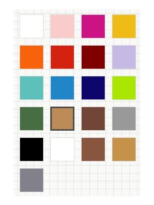 pillow fortune cookie boxes colour range