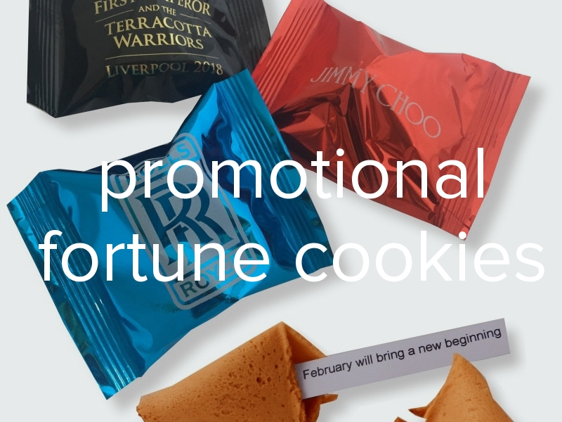 personalised fortune cookies for marketing campaigns