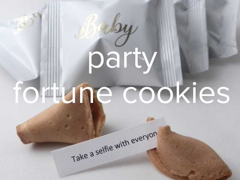 party fortune cookies