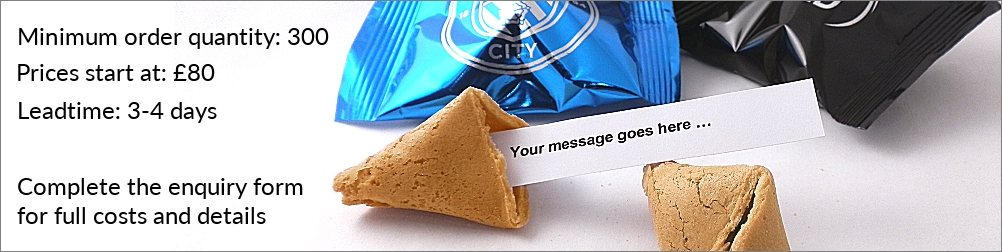 personalised fortune cookies for promotion campaigns