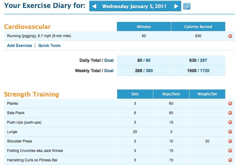 exercisediary