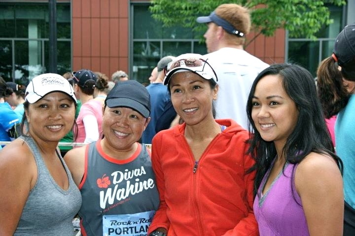 Portland Rock 'n Roll Half-Marathon with Family!
