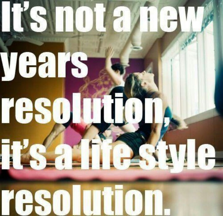 Not a new years resolution