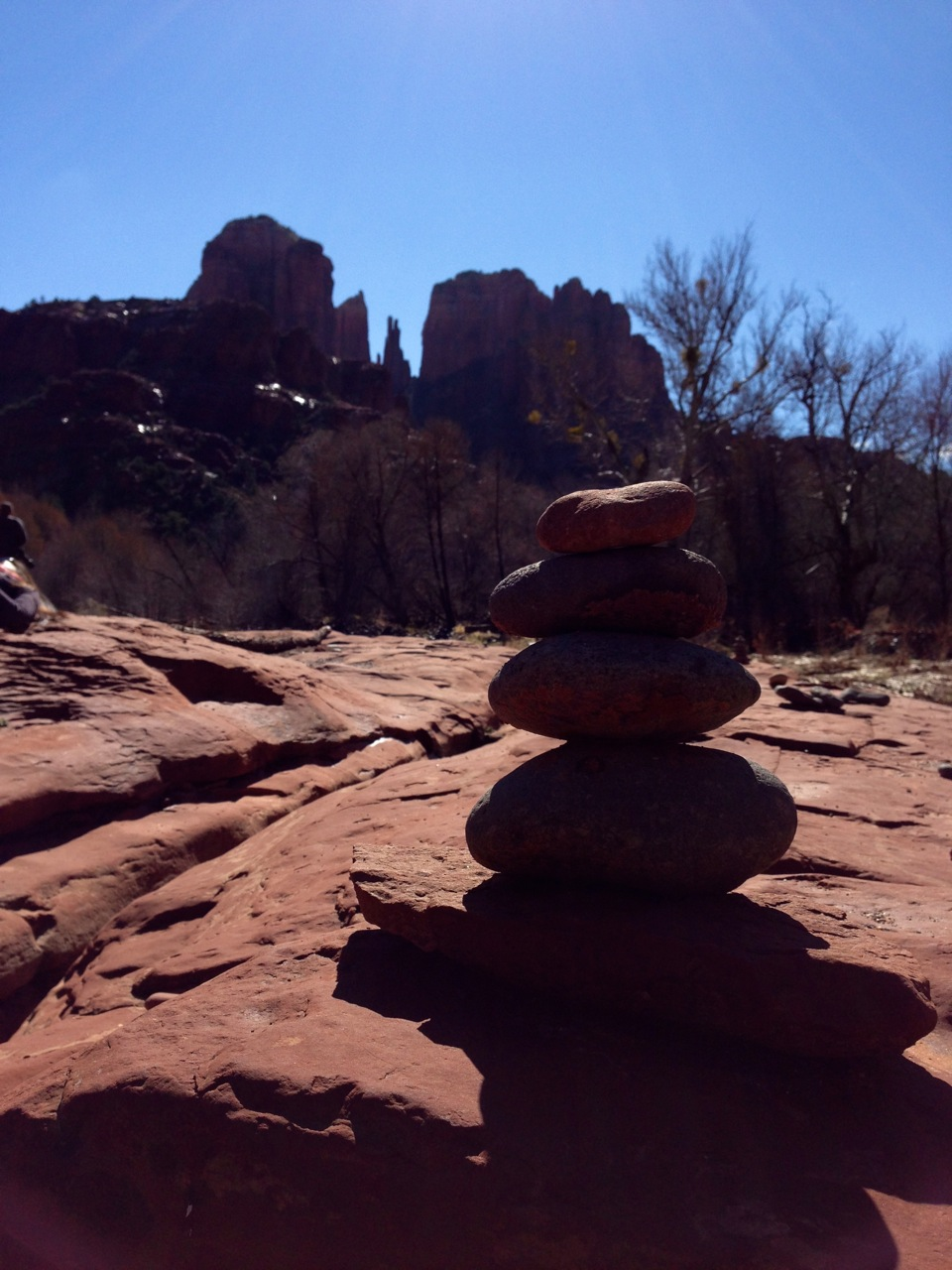 Vortexes at Red Rock Crossing