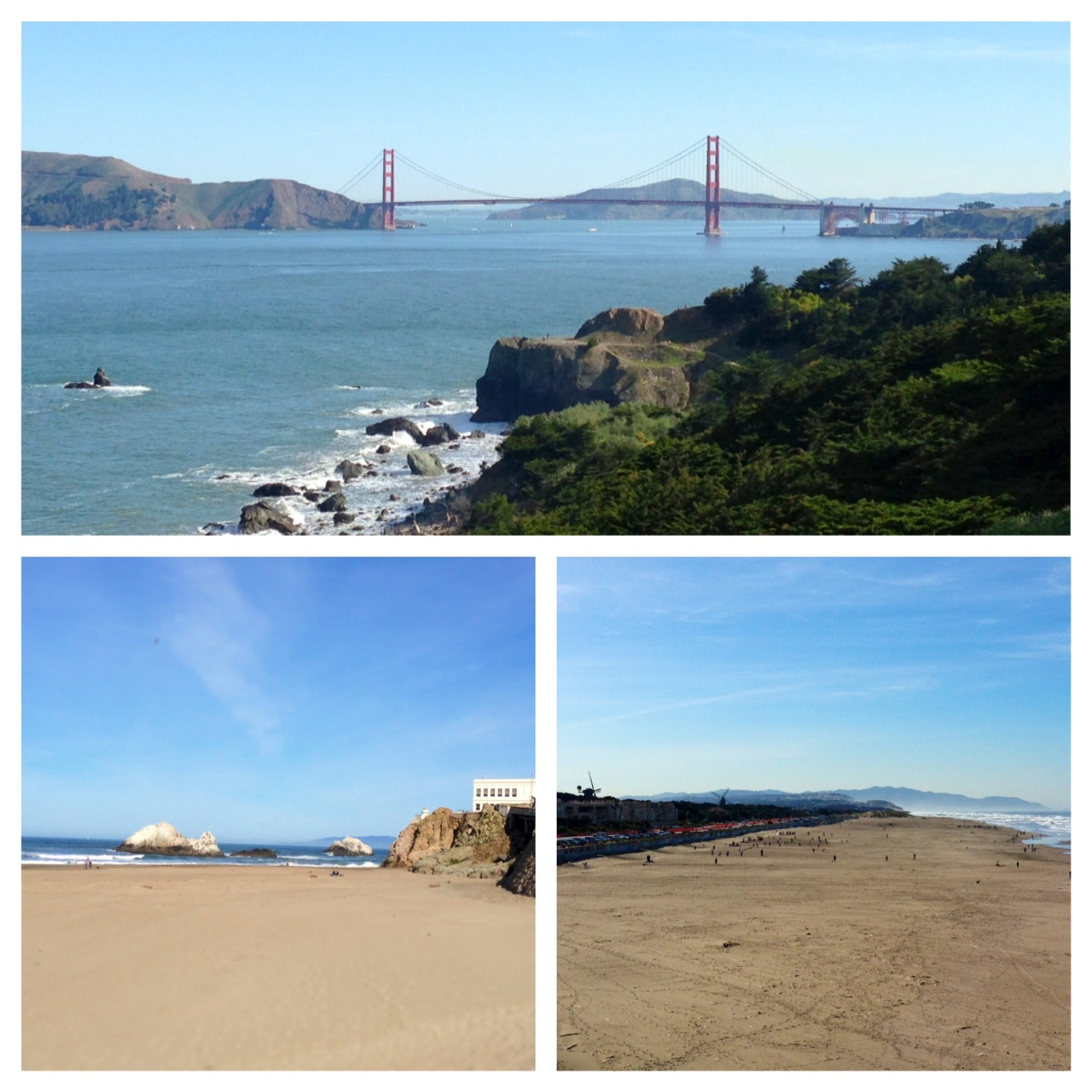 View from Lands End in San Francisco