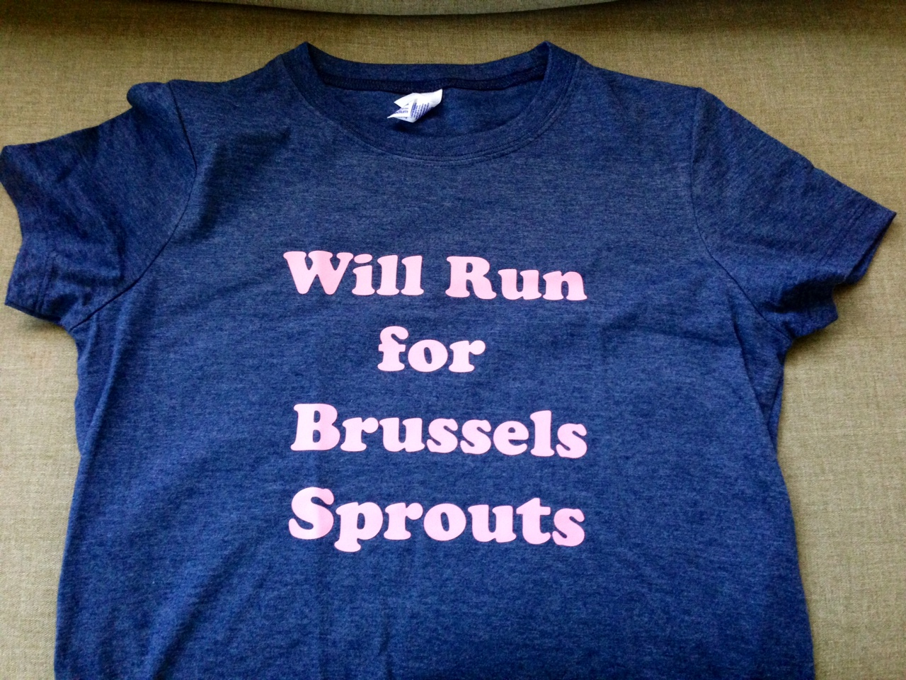 Will Run for Brussels Sprouts!