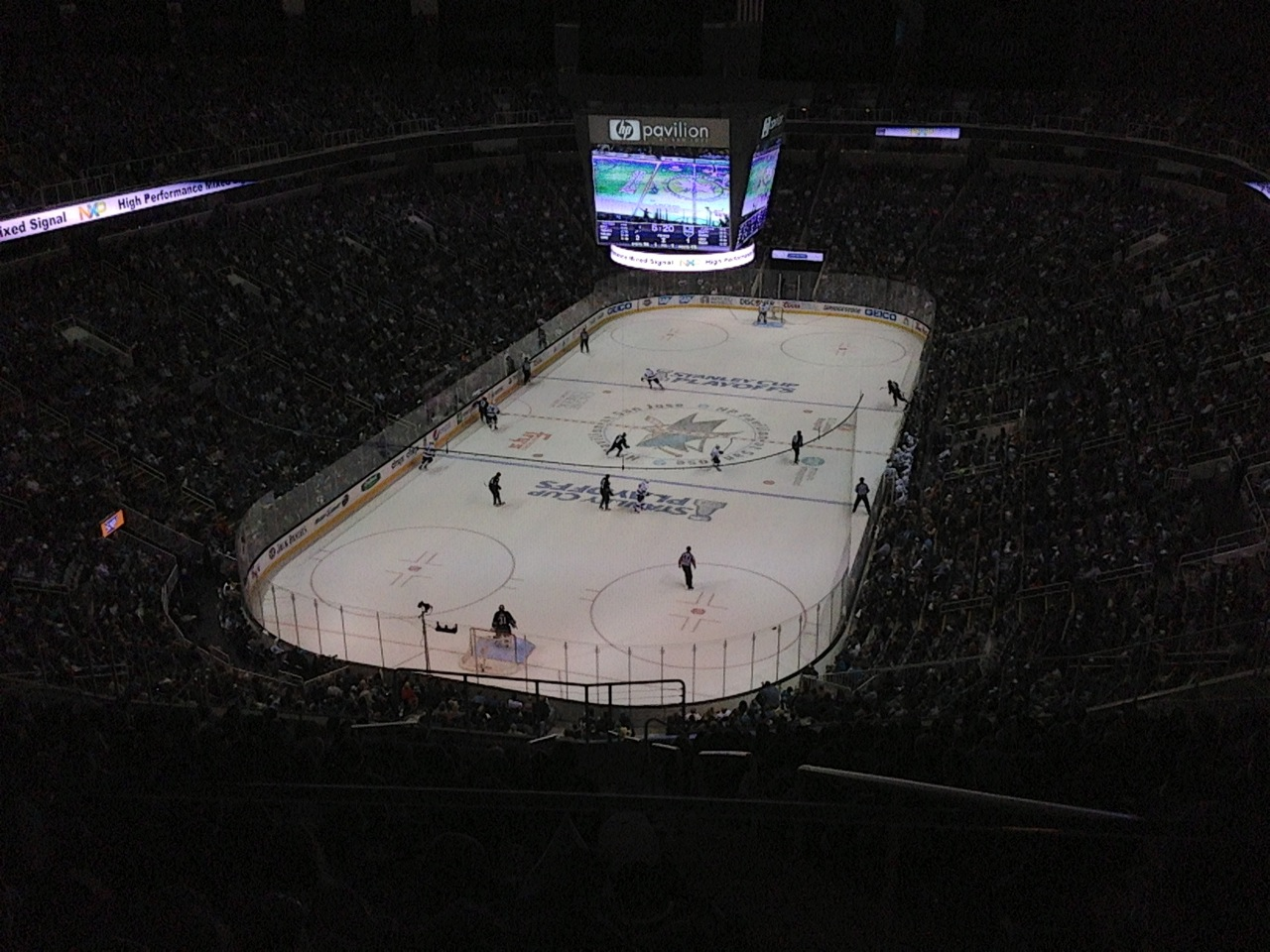View from the suite