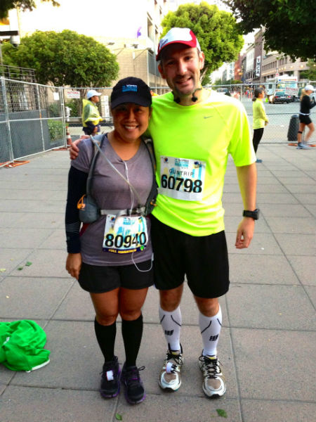 First time marathoners are guaranteed an automatic PR!