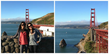 24-hours later I found myself at the Golden Gate Bridge again